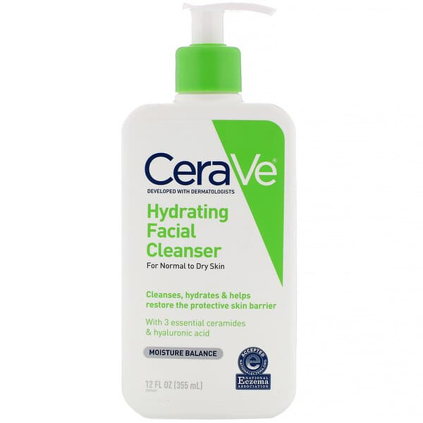 CeraVe, Hydrating Facial Cleanser, 12 fl oz (355 ml)