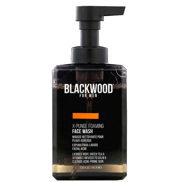 Blackwood For Men, X-Punge, Foaming Face Wash, For Men, 7.32 fl oz (216.35 ml)
