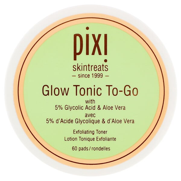 Pixi Beauty, GlowTonic To-Go, 60 Pads