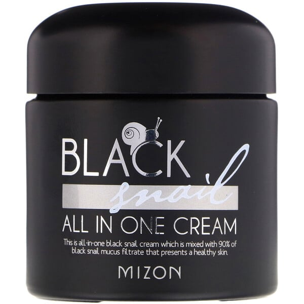 Mizon, Black Snail, All In One Cream, 2.53 fl oz (75 ml)