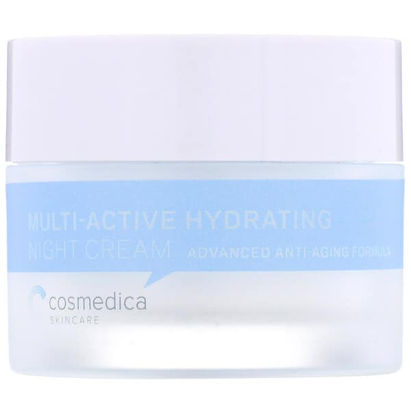 Cosmedica Skincare, Multi-Active Hydrating Night Cream, Advanced Anti-Aging Formula, 1.76 oz (50 g)