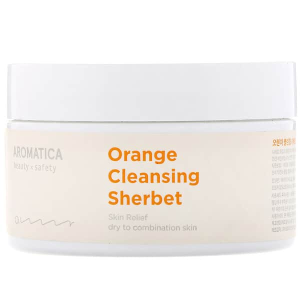 Aromatica, Orange Cleansing Sherbet, 6.3 oz (180 g)