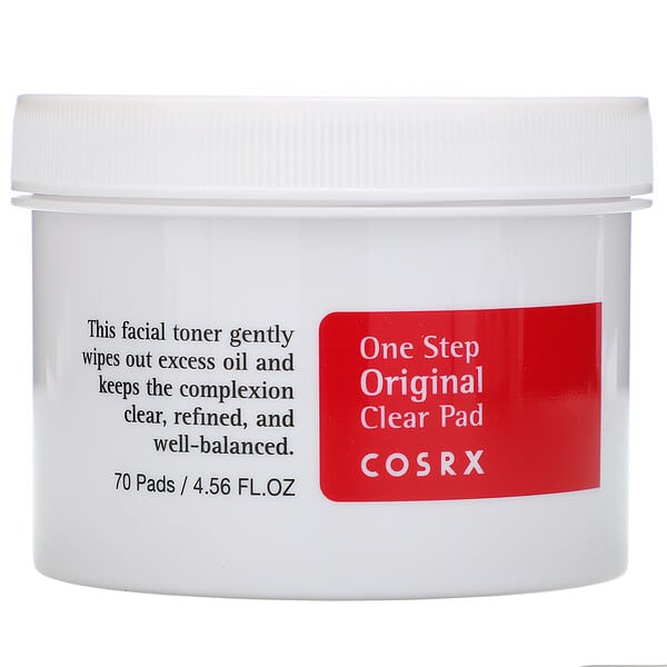 Cosrx, One Step Pimple Clear Pad, 70 Pads, (4.56 fl oz)