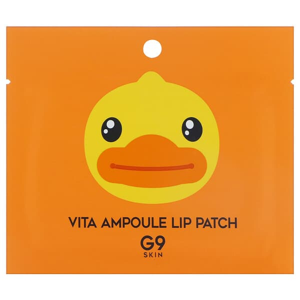 G9skin, Vita Ampoule Lip Patch, 5 Patches, 3 g Each