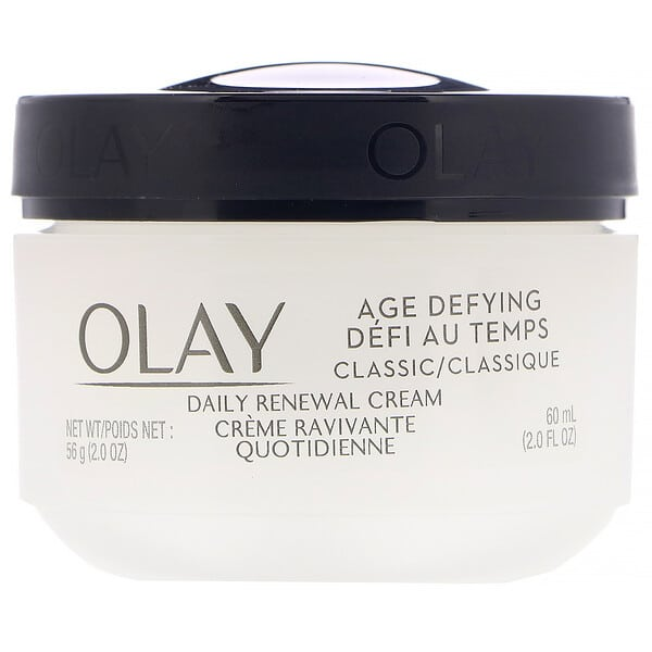Olay, Age Defying, Classic, Daily Renewal Cream, 2 fl oz (60 ml)