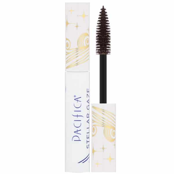Pacifica, Stellar Gaze, Length & Strength Mineral Mascara, Stardust Brown, 0.25 oz (7.1 g)