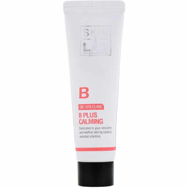 Skin & Lab, Dr. Vita Clinic, B Plus Calming Cream, Vitamin B, 30 ml