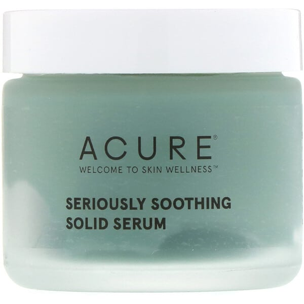 Acure, Seriously Soothing Solid Serum, 1.7 fl oz (50 ml)