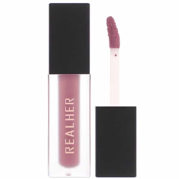 RealHer, I Deserve the Best, Matte Liquid Lipstick, Deep Mauve, 0.15 fl oz (4.5 ml)