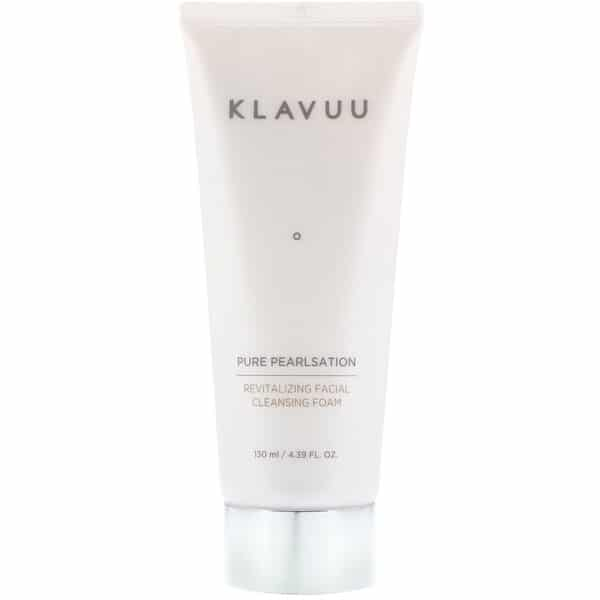 KLAVUU, Pure Pearlsation, Revitalizing Facial Cleansing Foam, 4.39 fl oz (130 ml)