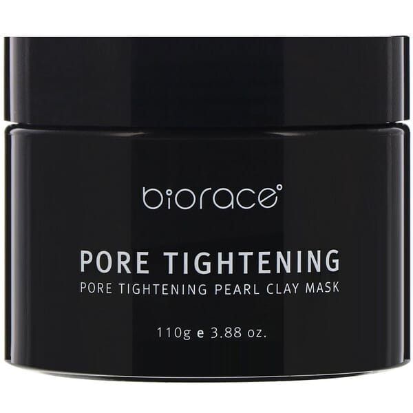 Biorace, Pore Tightening, Pearl Clay Mask, 3.88 oz (110 g)