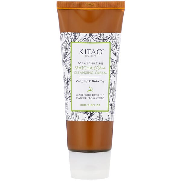 Kitao, Matcha & Chia, Cleansing Cream, 3.8 fl oz (110 g)