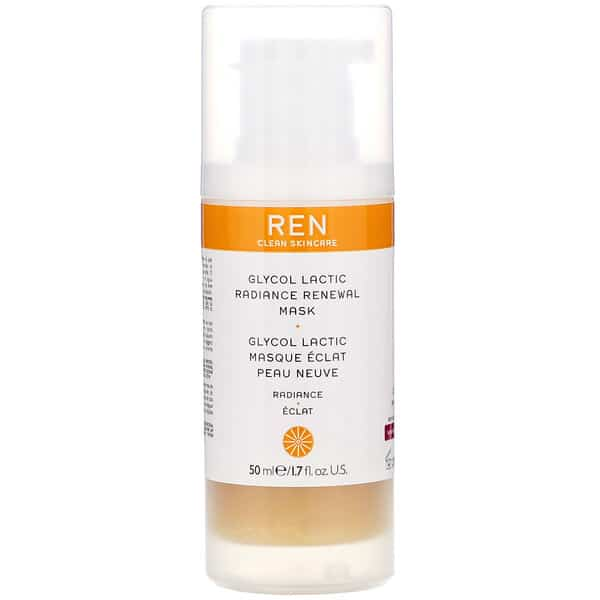 Ren Skincare, Glycol Lactic, Radiance Renewal Mask, 1.7 fl oz (50 ml)