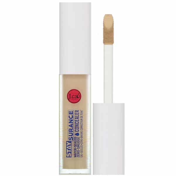 J.Cat Beauty, Staysurance, Water-Sealed Zero-Smudge Concealer, SHC109 Soft Tan, 0.16 fl oz (4.8 ml)