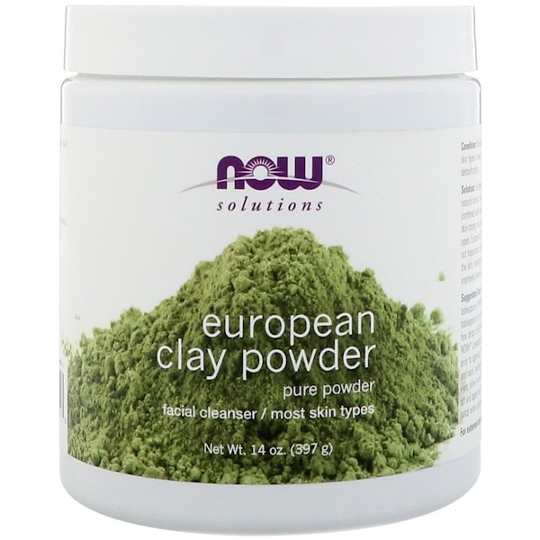 Now Foods, Solutions, European Clay Powder, 14 oz (397 g)