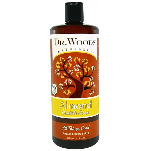 Dr. Woods, Almond Castile Soap, 32 fl oz (946 ml)