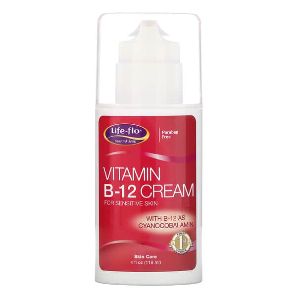 Life-flo, Vitamin B-12 Cream, 4 oz (113.4 g)