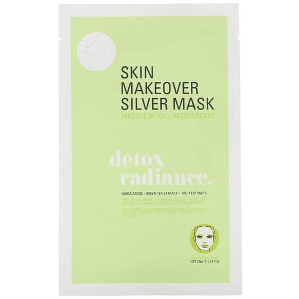 SFGlow, 6 Step Facial In A Box, Detox + Radiance, 1 Set