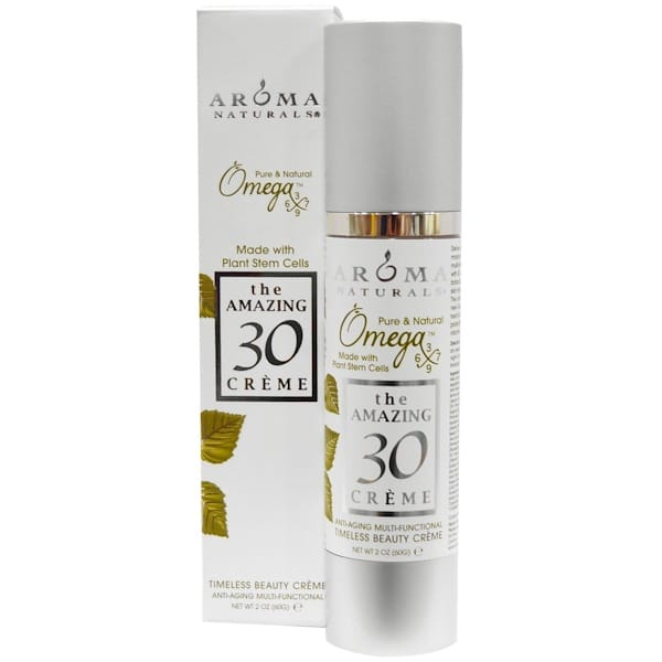 Aroma Naturals, The Amazing 30 Creme, Anti-Aging Multi-Functional, 2 oz (60 g)