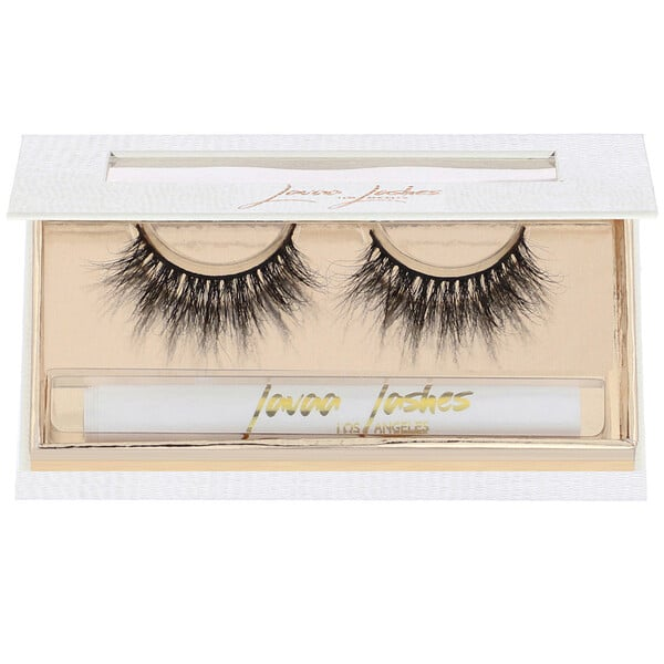 Lavaa Lashes, Flirty, 3D Mink False Eyelashes, 1 Pair