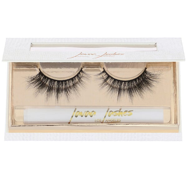 Lavaa Lashes, Rebel, 3D Mink False Eyelashes, 1 Pair