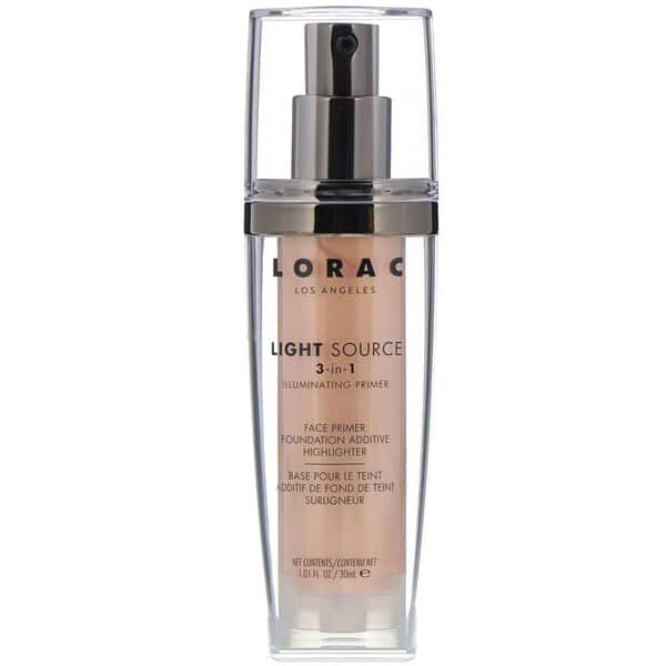 Lorac, Light Source, 3 in 1 Illuminating Primer, Daybreak Aurore, 1.01 fl oz (30 ml)