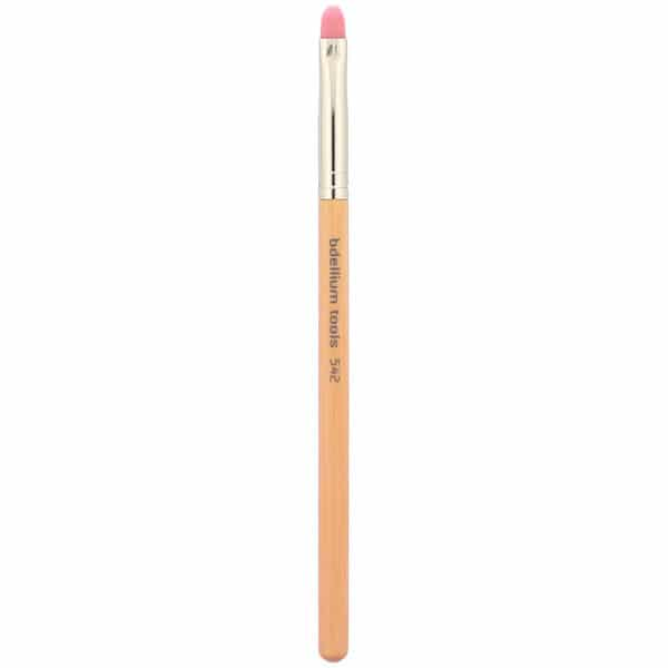 Bdellium Tools, Pink Bambu Series, Lips 542, 1 Bold Lip Brush