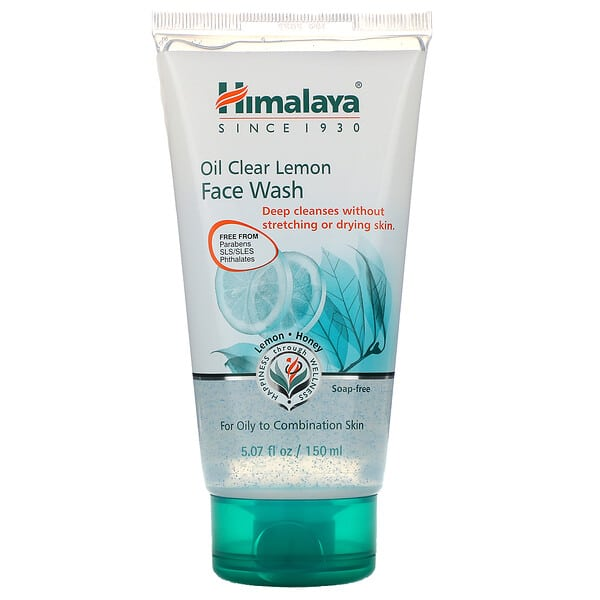 Himalaya, Oil Clear Lemon Face Wash, For Oily Skin, 5.07 fl oz (150 ml)