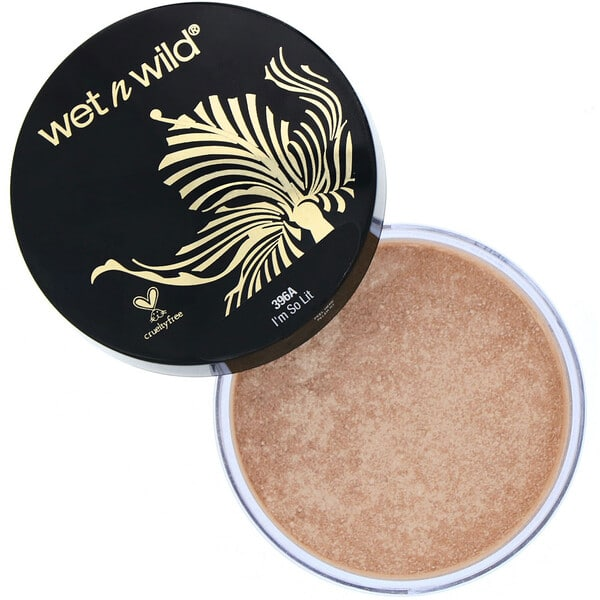 Wet n Wild, MegaGlo Loose Highlighting Powder, I'm So Lit, 0.28 oz (8 g)