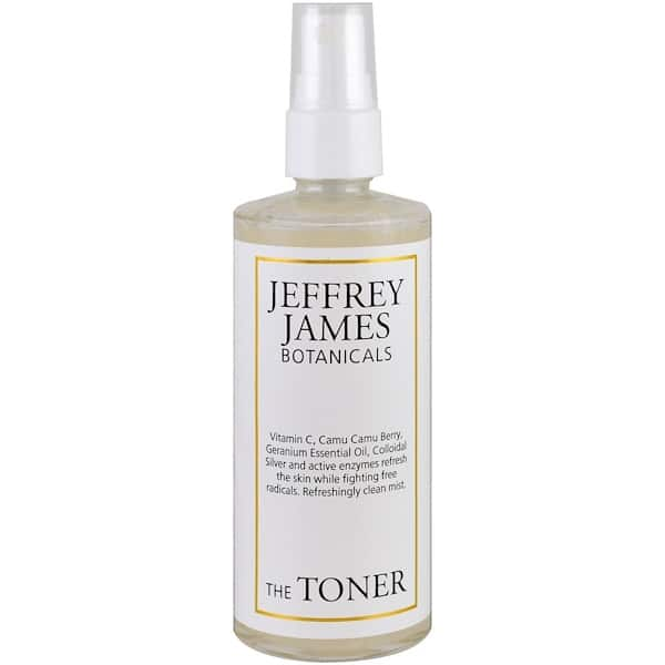 Jeffrey James Botanicals, The Toner, Refreshingly Clean Mist, 4.0 oz (118 ml)