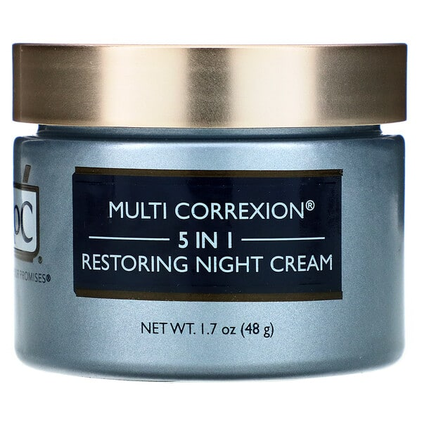 RoC, Multi Correxion, 5 In 1, Restoring Night Cream, 1.7 oz (48 g)
