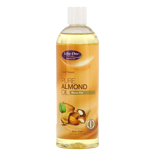 Life-flo, Pure Almond Oil, Skin Care, 16 fl oz (473 ml)