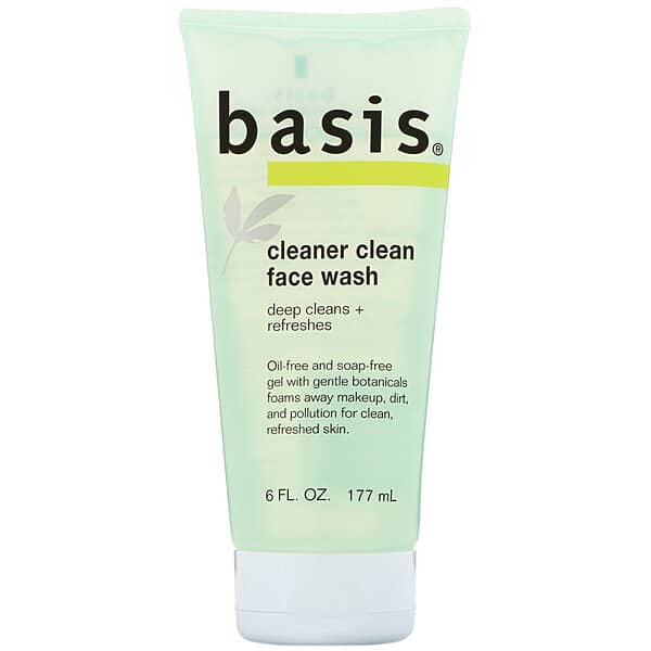 Basis, Cleaner Clean Face Wash, 6 fl oz (177 ml)