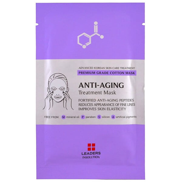Leaders, Anti-Aging Treatment Mask, 1 Sheet, 25 ml