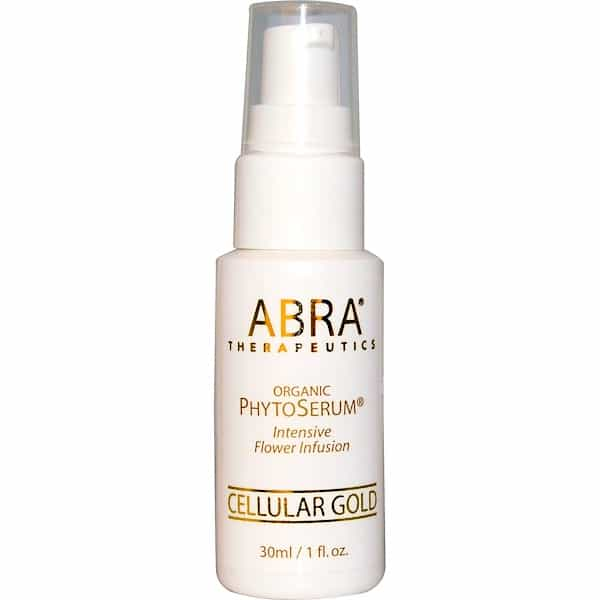 Abra Therapeutics, Organic PhytoSerum, Intesive Flower Infusion, Cellular Gold, 1 fl oz (30 ml)