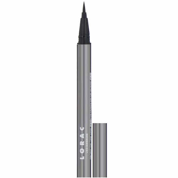 Lorac, Front of the Line, Pro Liquid Eyeliner, Black, 0.02 fl oz (0.55 ml)