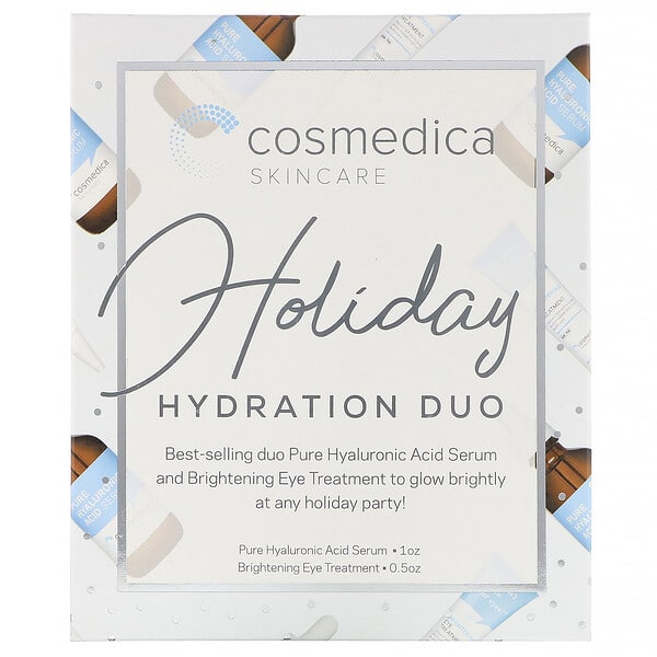 Cosmedica Skincare, Holiday Hydration Duo, 2 Piece Kit