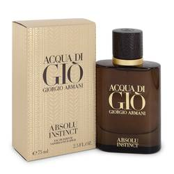 GIORGIO ARMANI ACQUA DI GIO ABSOLU INSTINCT EDP FOR MEN