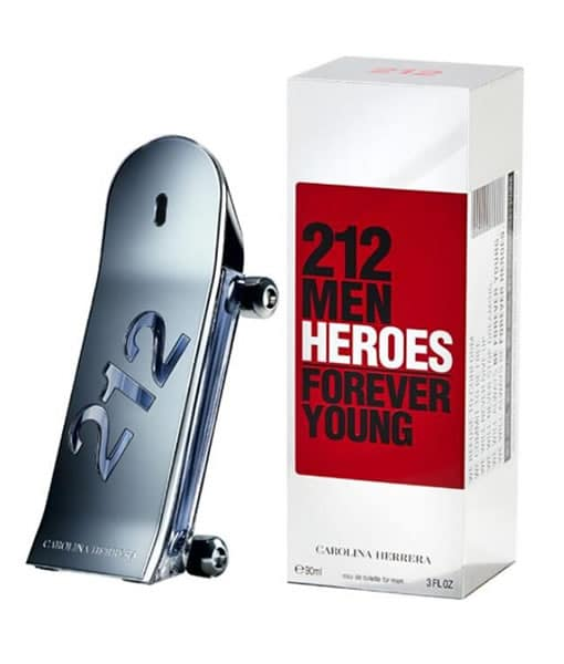 CAROLINA HERRERA 212 HEROES FOREVER YOUNG EDT FOR MEN