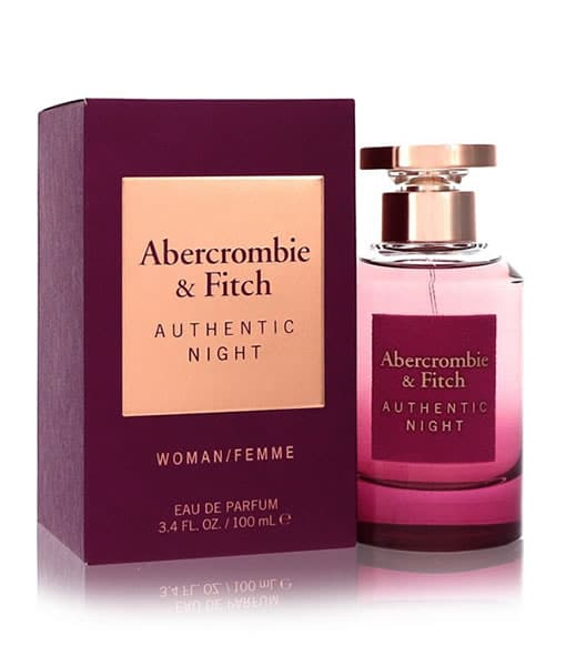 ABERCROMBIE & FITCH AUTHENTIC NIGHT FEMME EDP FOR WOMEN