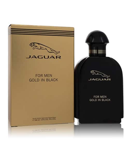 JAGUAR GOLD IN BLACK EDT FOR MEN