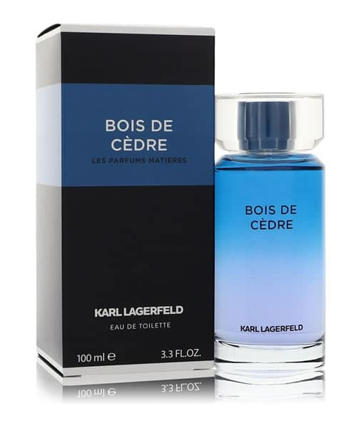 KARL LAGERFELD BOIS DE CEDRE LES PARFUMS MATIERES EDT FOR MEN